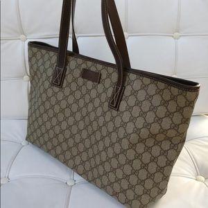 e1e3feb5fdb Gucci Bags - Gucci GG Supreme top zipper tote